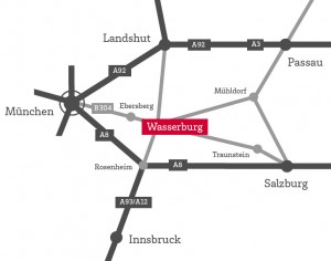 Anfahrt Wasserburg